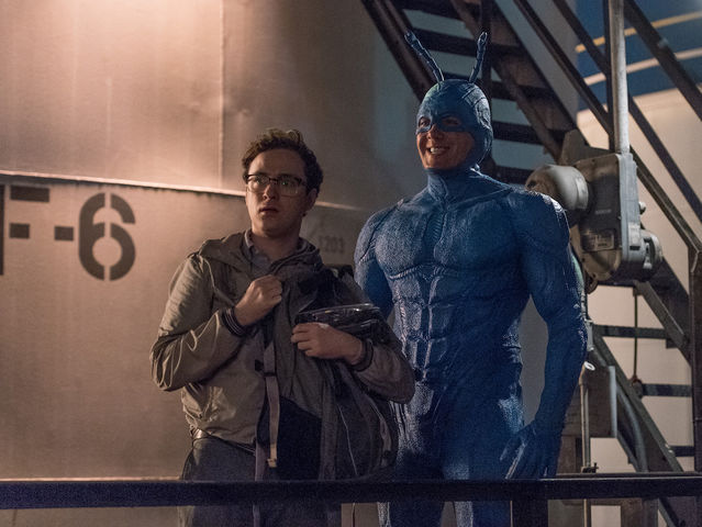 What is The Tick's sidekick's name?
