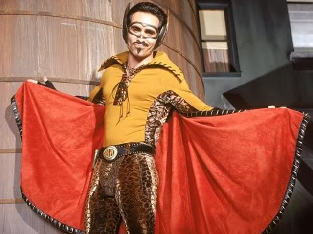 In the first live-action series Die Fledermaus was altered to be a hero of Latino heritage called what?