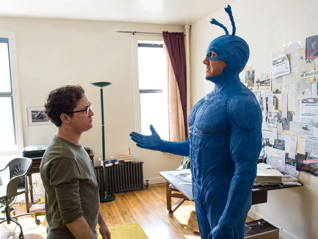 Who plays The Tick in the new Amazon Prime series?