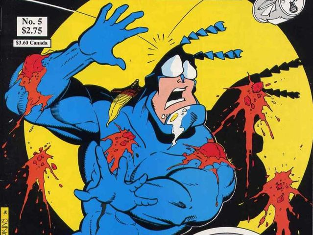 The Tick was first created as a mascot for a comic book store in 1986!