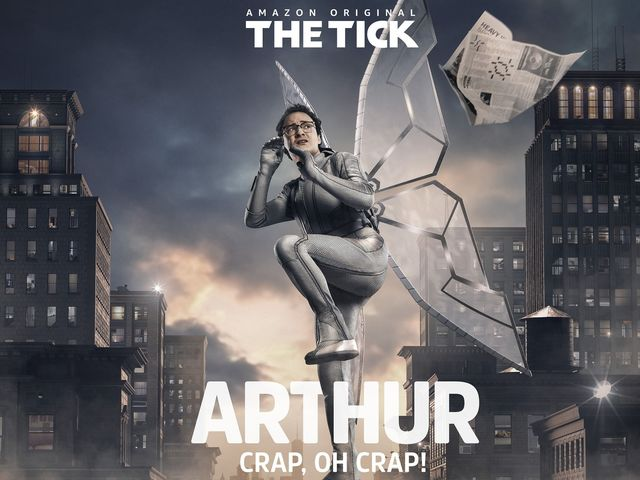 Arthur is one of The Tick's coworkers and also his sidekick, albeit, not a particular good one.