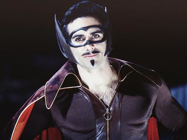 Die Fledermaus, a parody of Batman, became Batmanuel in the first live action series.