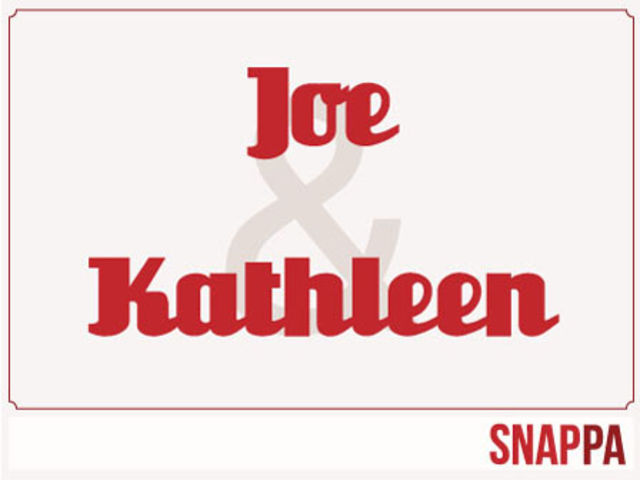 Joe and Kathleen