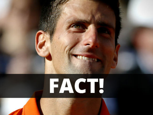 It's most certainly true! He has eaten some of the Centre Court grass after each of his three triumphs at Wimbledon.