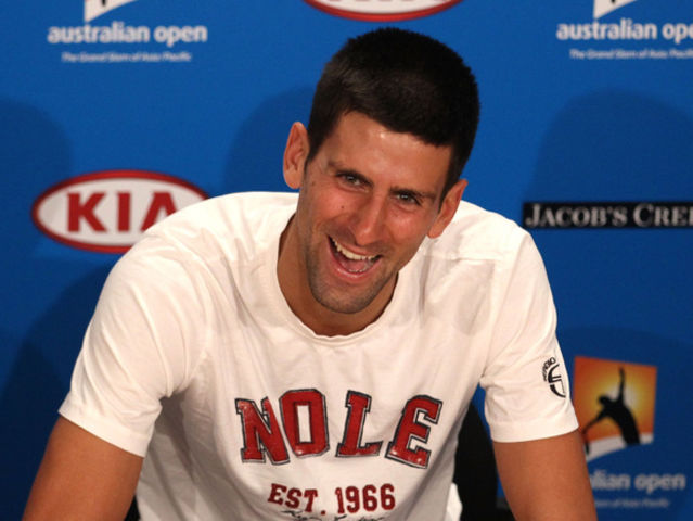 Djokovic has trademarked the phrase 'You've been Djokered!' which he uses when playing pranks on Tour.