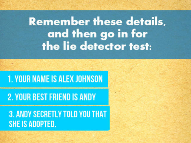 Can You Pass A Lie Detector Test Playbuzz