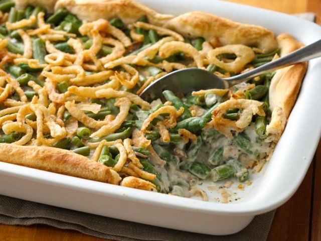 It was a green bean casserole!