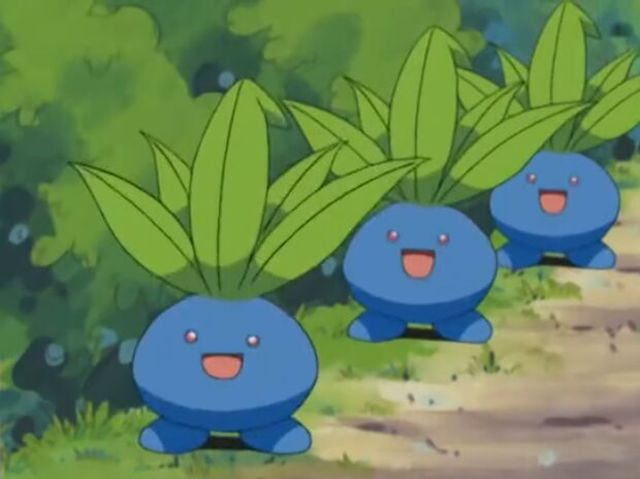 What is Oddish's final evolution?