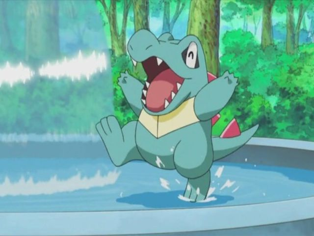 What is Totodile's final evolution?