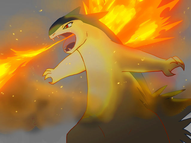 Cyndaquil's final evolution is Typhlosion!