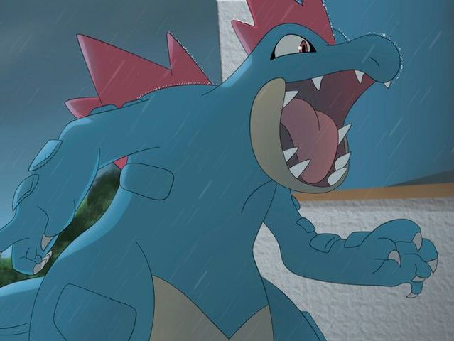 Totodile's final evolution is Feraligatr!