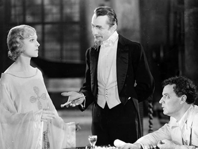 Believe it or not, the zombie here is the vaguely threatening white lady. Bela Lugosi, one of cinema's most famous Draculas, plays the crazy doctor who brings her to life, more or less.