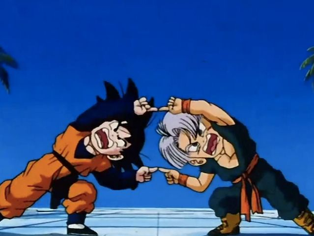 Who did Goku learn the Fusion Dance from?