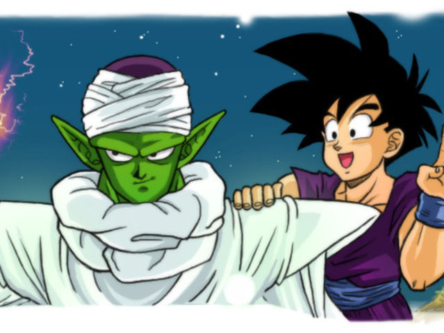 Why does Piccolo train Gohan?