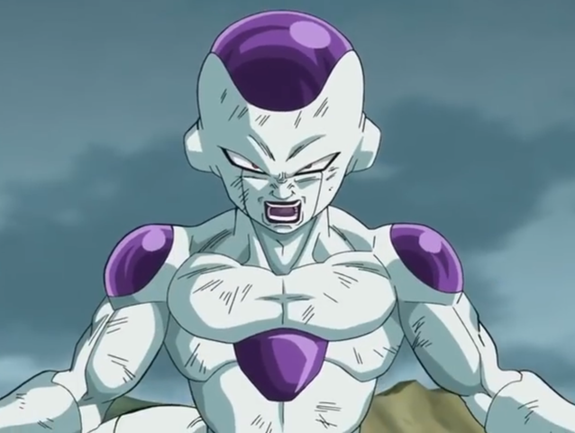 Who does Frieza kill first on planet Namek?