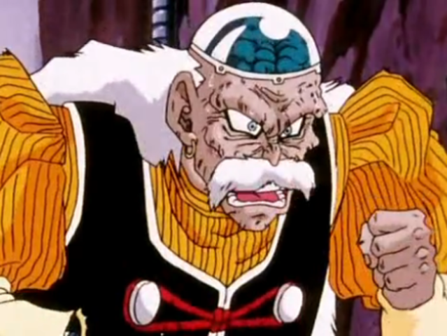 When Dr. Gero first appears in the series, how does he kill his first victim?