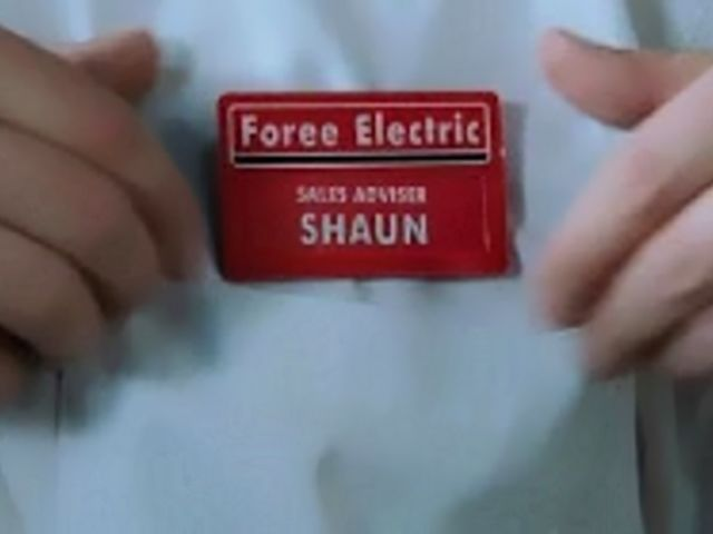 "In ""Shaun Of The Dead,"" where does Shaun work?"