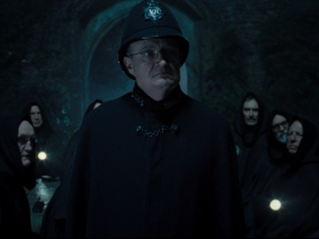 "In ""Hot Fuzz,"" who was the leader of the NWA?"