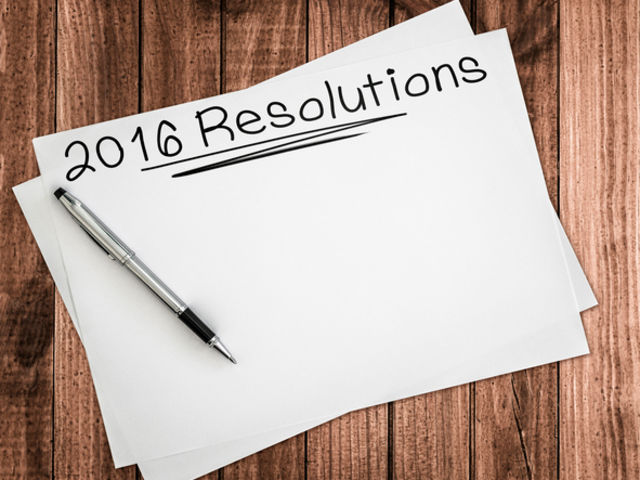 What was your resolution last year?