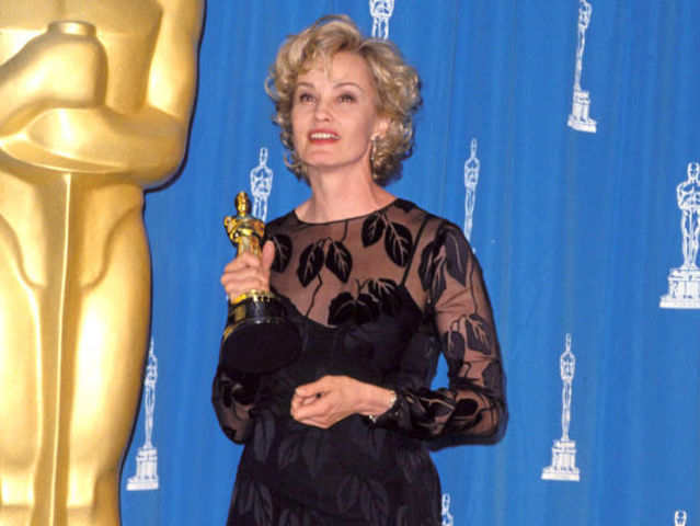 Jessica Lange has been nominated for six Academy Awards and has one two, an Oscar for Best Actress in Blue Sky in 1995 and an Oscar for Best Supporting Actress in Tootsie in 1983.