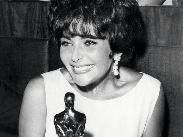 Liz Taylor was nominated for five Oscars and won two Academy Awards for her performances in Who's Afraid of Virginia Woolf? and BUtterfield 8.