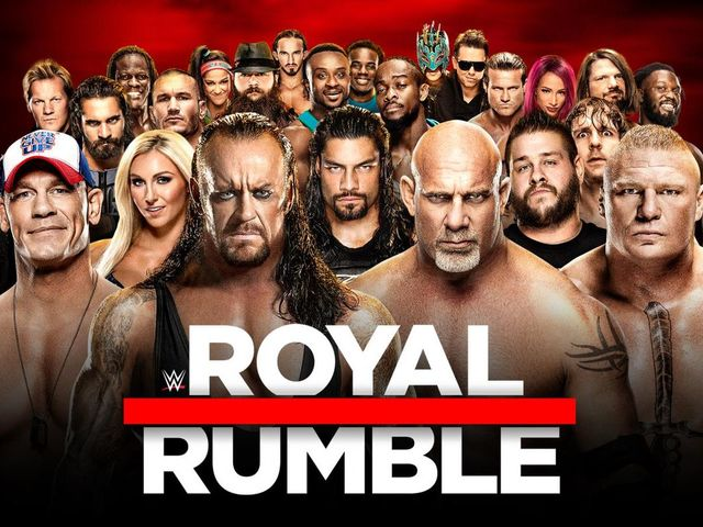 Who won the 2017 Royal Rumble?