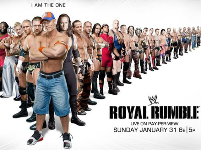 Who won the 2010 Royal Rumble?