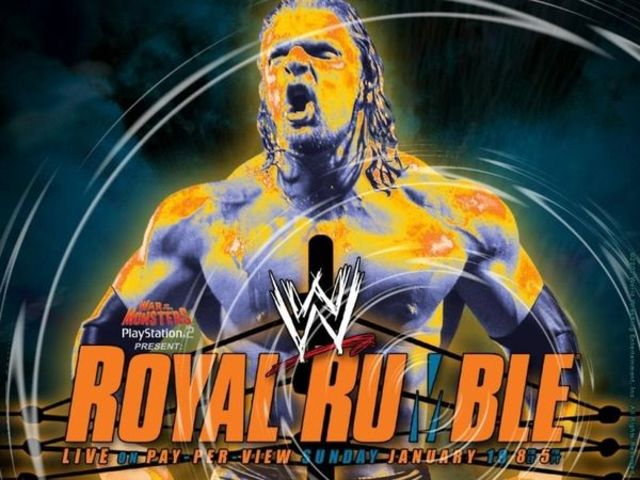 Who won the 2003 Royal Rumble?