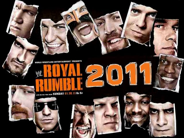 Who won the 2011 Royal Rumble?
