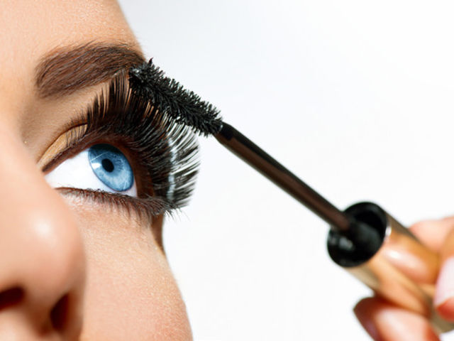 This is mascara! People use this to make their eyelashes look longer and darker.