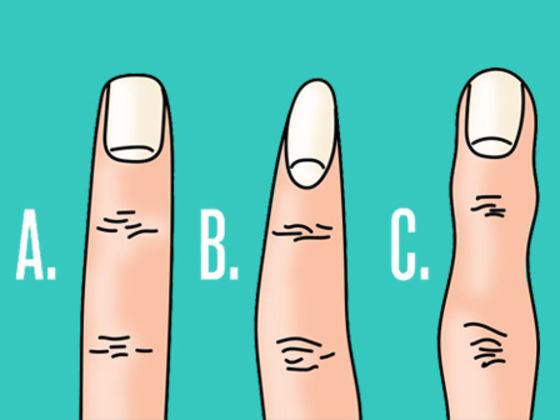 Узнай характер по форме пальцев.