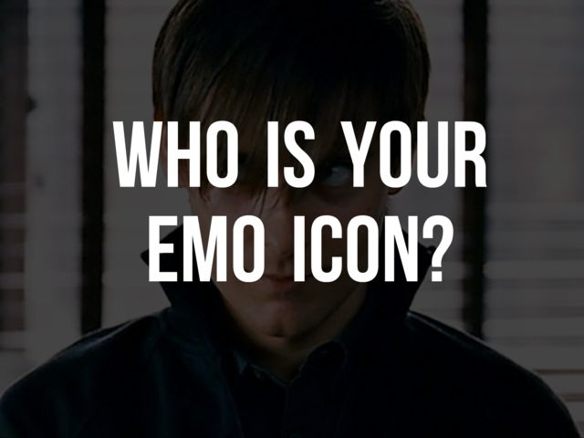 Are You Emo Take The Quiz 95