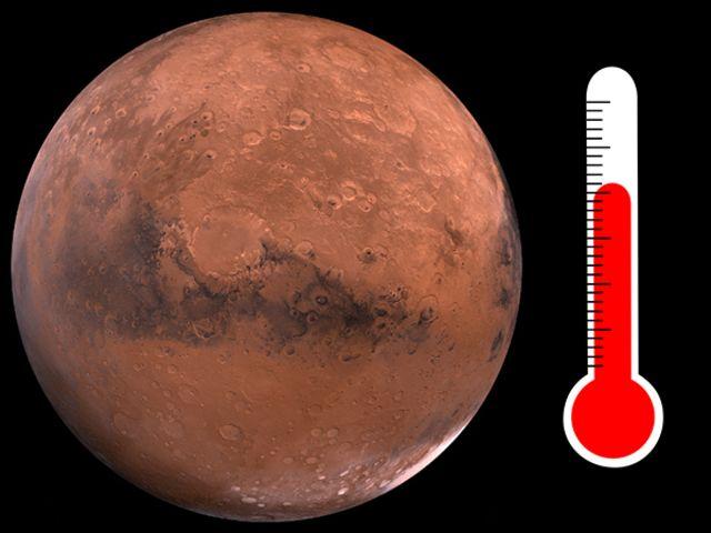 planet mars temperature - photo #37