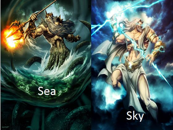 what sea or sky god goddess are you playbuzz