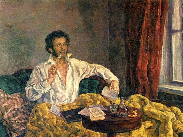 Пушкин: портрет в интернете