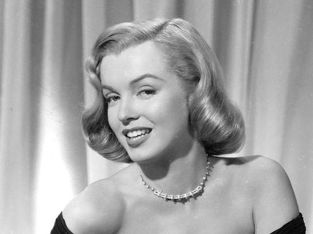 "Marilyn wore this dress in ""The Asphalt Jungle"".  Marilyn Monroe was perhaps the first one who made the LBD sexy."