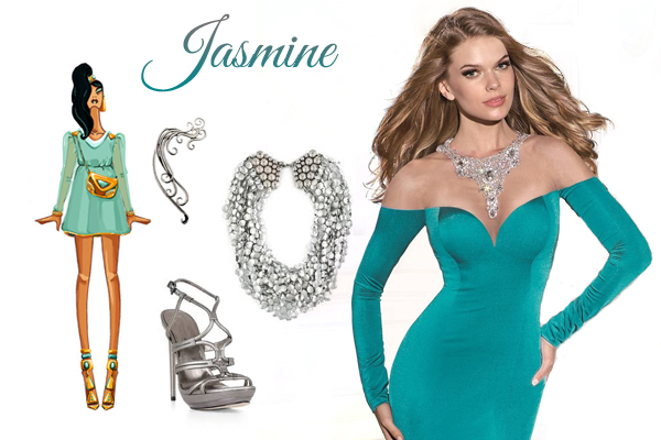 Famous Jasmine Prom Dress Elaboration - Wedding Dresses and Gowns ...