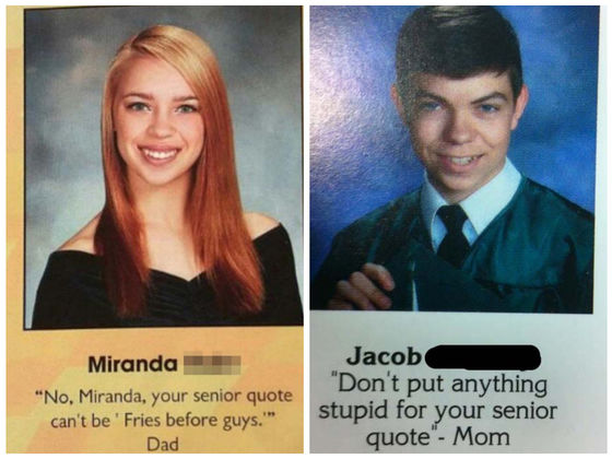 The 17 Most Hilarious Senior Quotes From High School ...