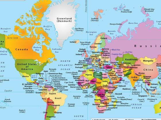 Столицы стран
