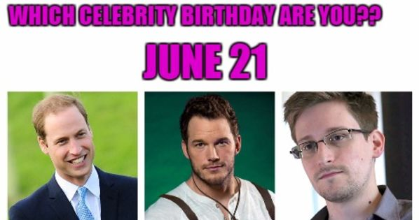 Celebrity Birthdays June - June Famous Birthdays