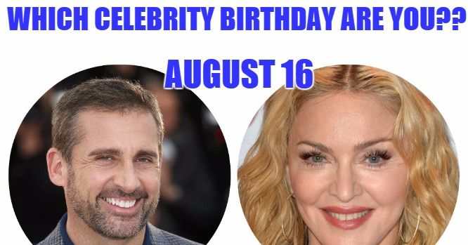 Famous People's Birthdays, June 16, United States ...