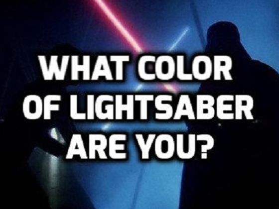 What Color Of Lightsaber Are You? | Playbuzz