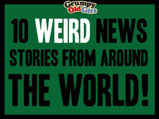 10 Weird News Stories From Around The World! | Playbuzz