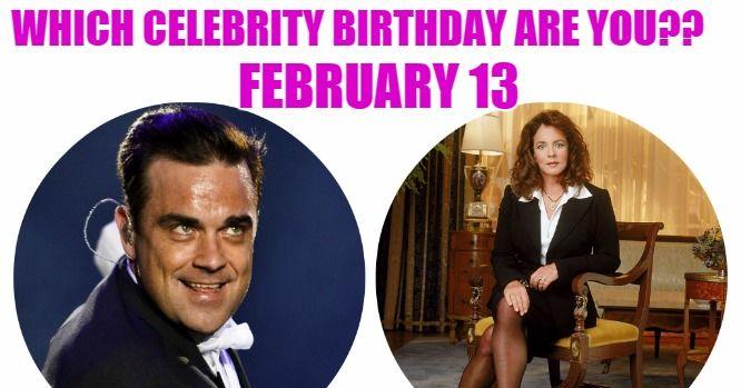 13 february birthday celebrity dates