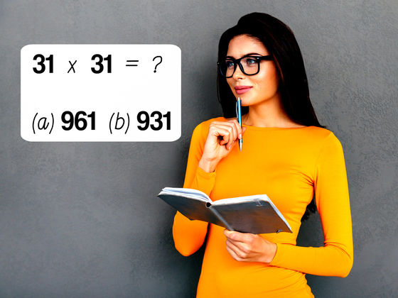 Only 3% Of The Population Can Get 31/31 In This Basic Math Test