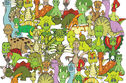 Can You Find The Turtle Hiding In These Dinosaurs?