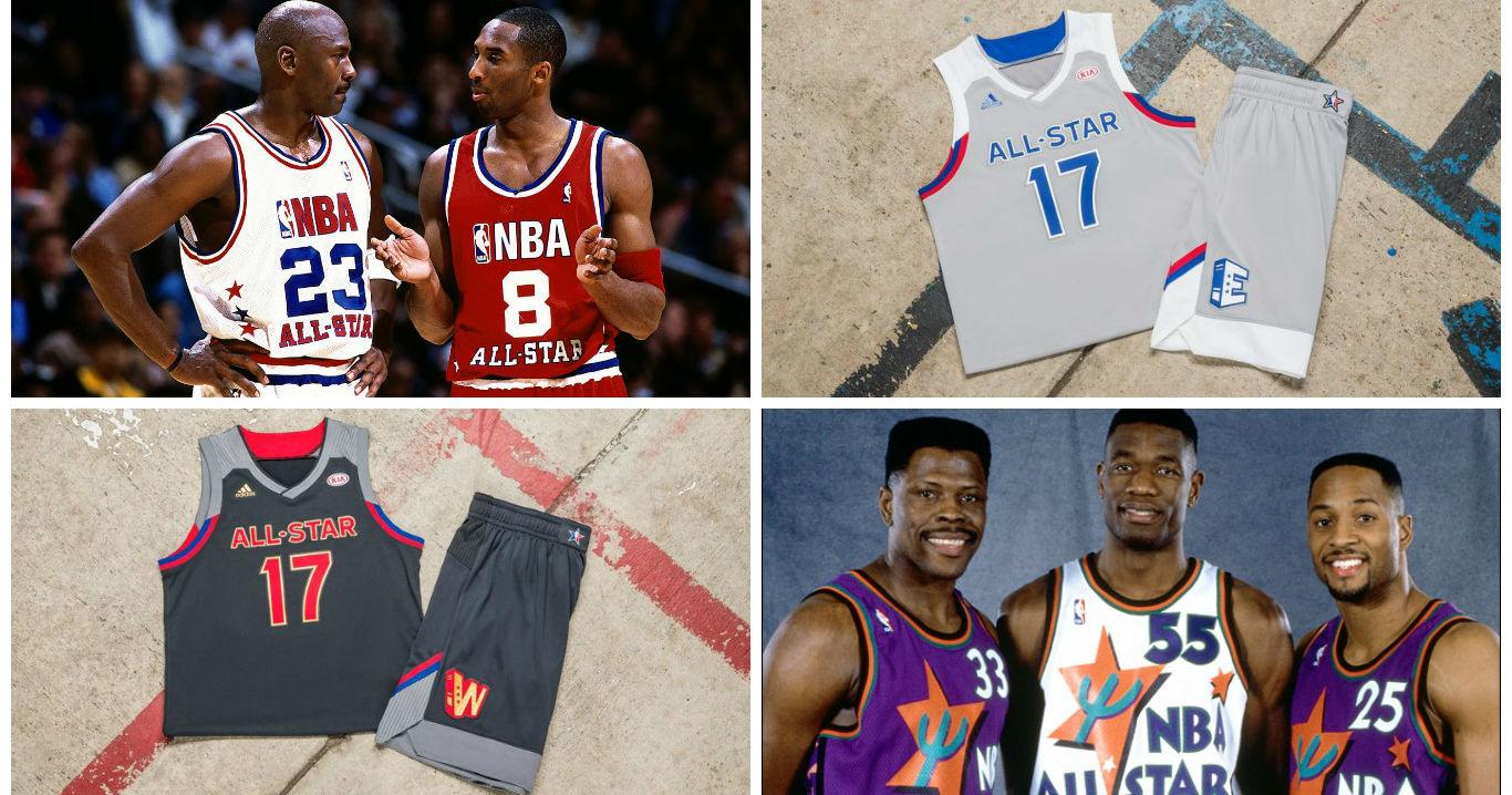 old nba all star jerseys