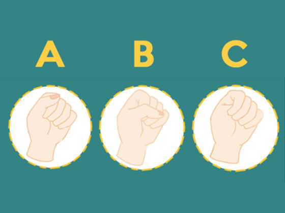 The Way You Hold The Fist Could Reveal Your External and Internal Personality