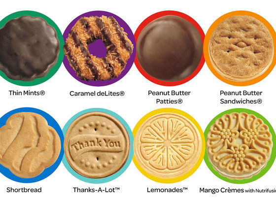 Girl Scout Cookie Background