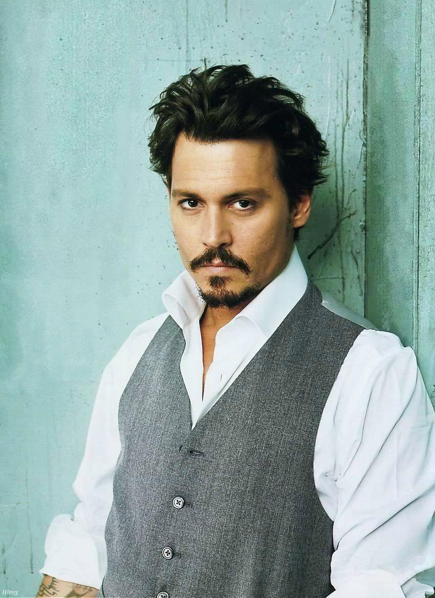 Johnny Depp Größe